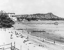 For the latest news, click on this view from the Moana Surfrider, circa 1920.