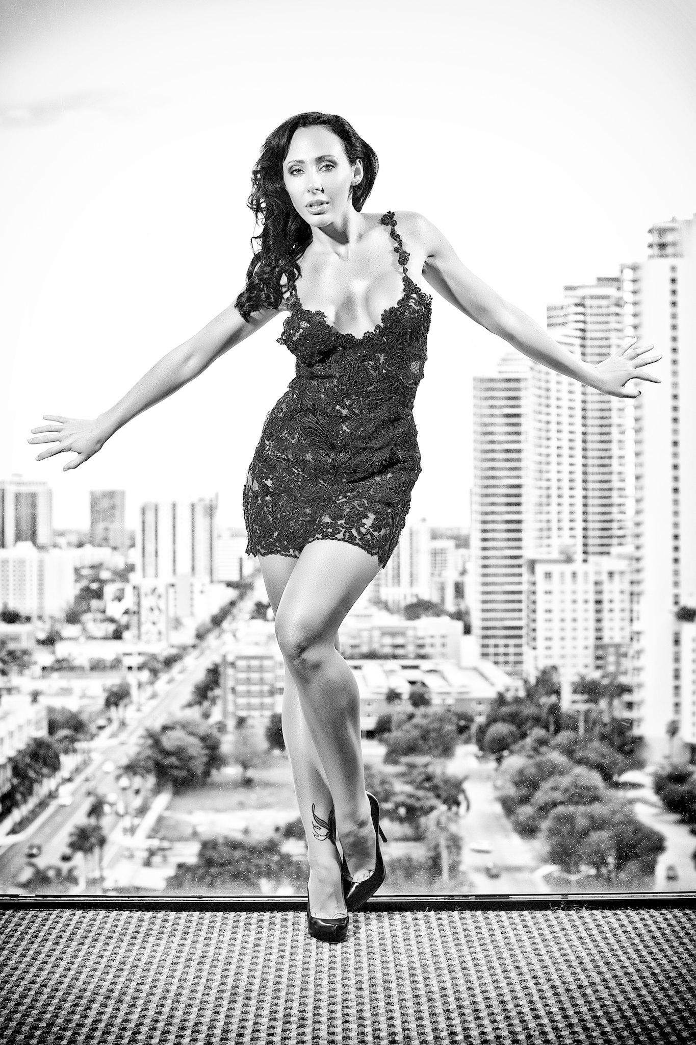Photo shoot with Mia Corday, fashion styling by Eva Danielle, for Fashion Erotica Magazine