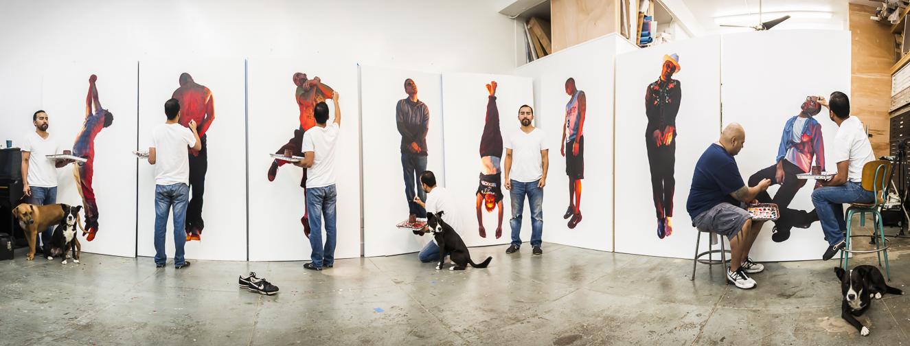 Vincent Valdez w/ Mark Olivares