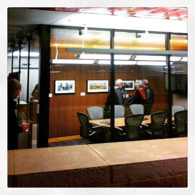 My framed prints hanging in the Peoples Gallery, City Hall, Austin, TX.