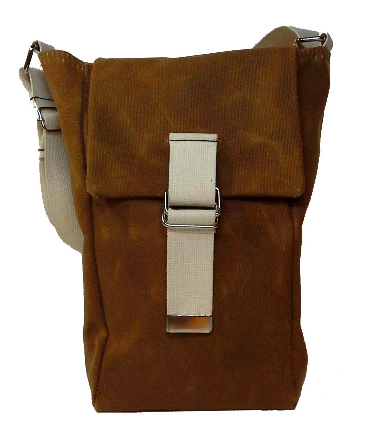 Brown Double Tote