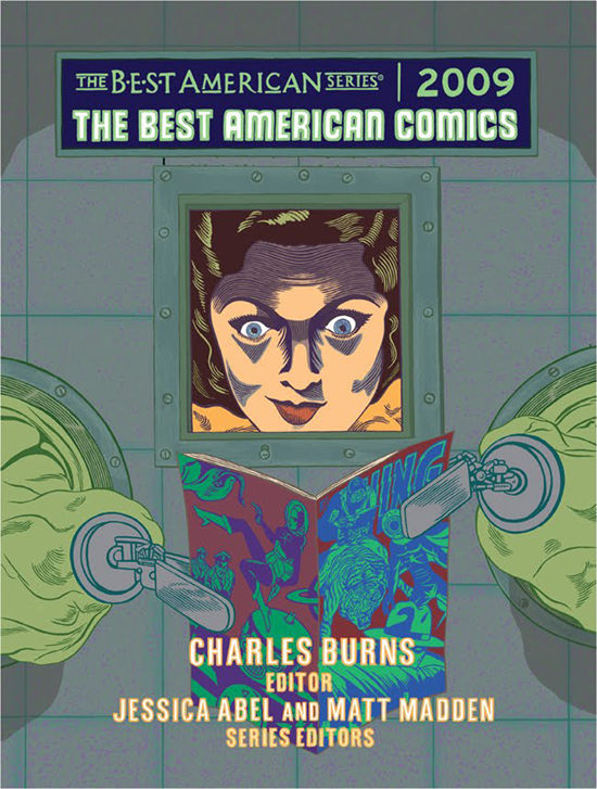 Cover  The Best American Comics  2009