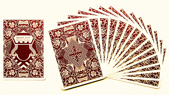 Robert Coover Story Playing Cards included with  A Child Again , 2006