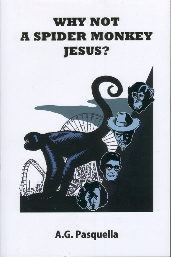 Cover  Why Not a Spider Monkey Jesus?   2010