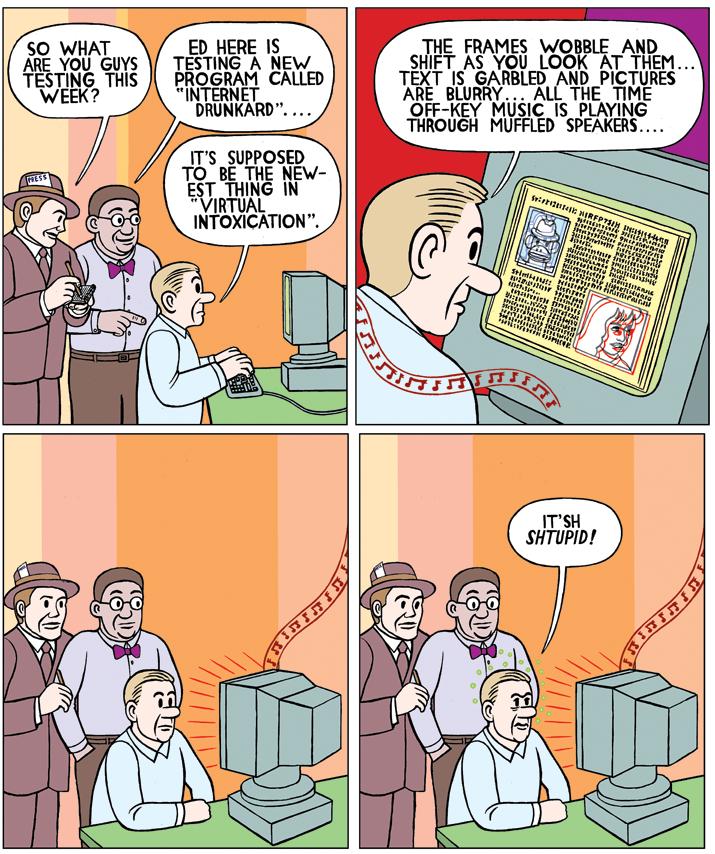 """Lab Stories""  PC Magazine , 2000"