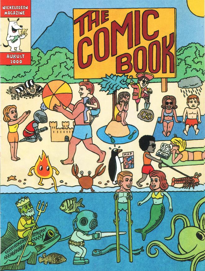 Comic Book Cover  Nickelodeon Magazine , 2000