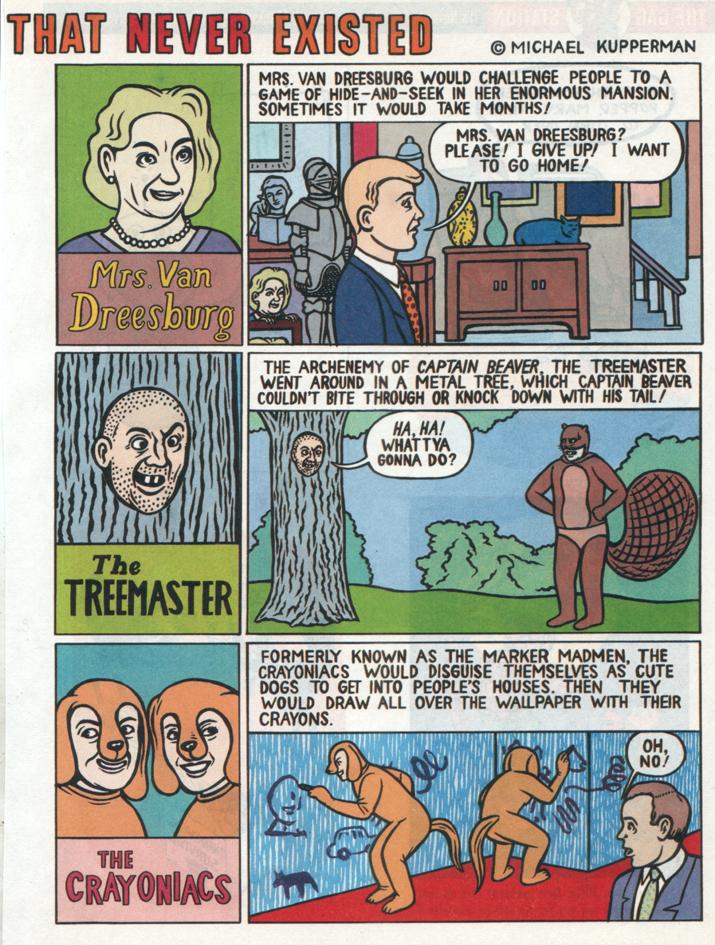 """The Worst Comic Book Villains""  Nickelodeon Magazine , 1998"