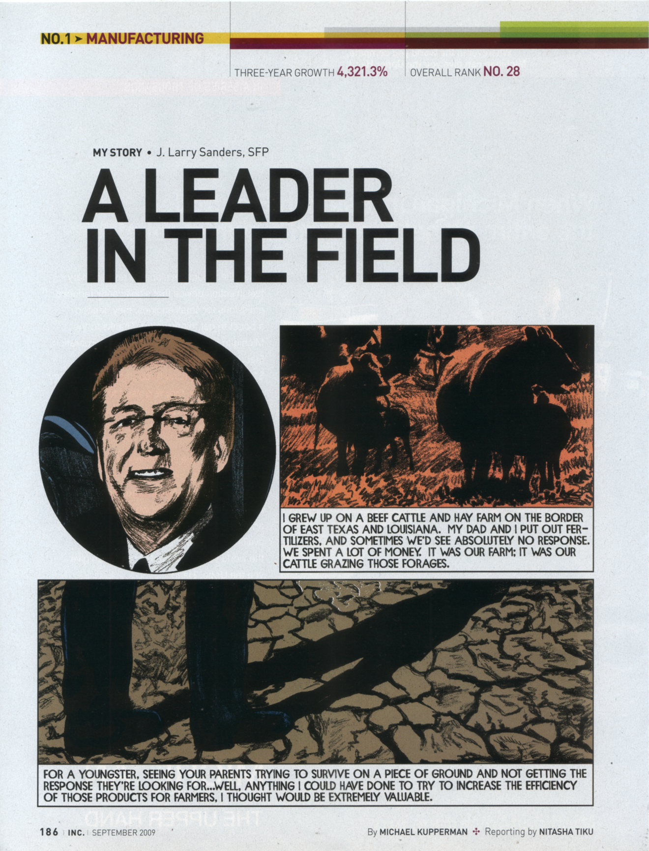 """A Leader in the Field""   Inc. Magazine , 2006"