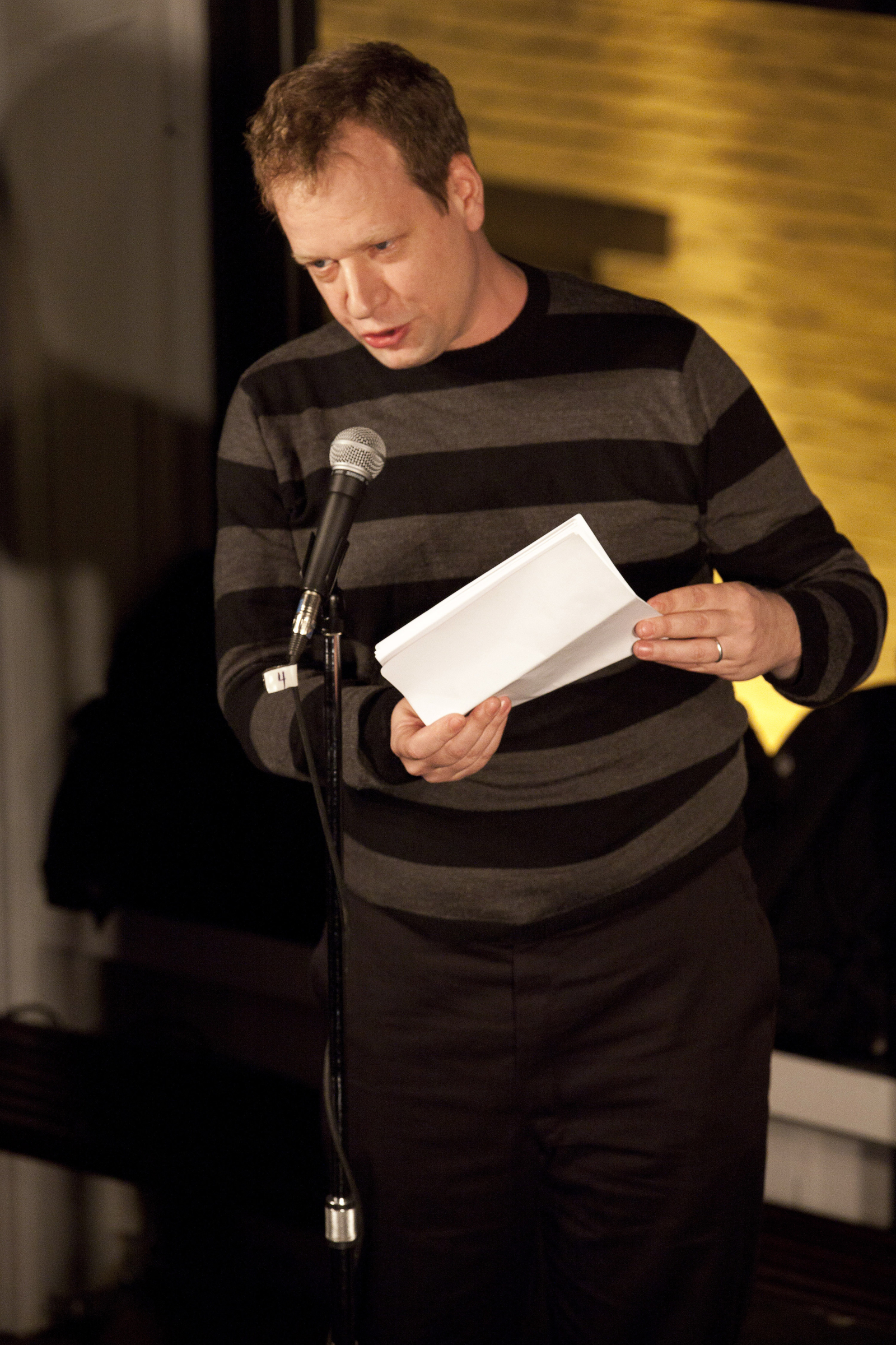 Reading at Housing Works, for the  Agorafabulous!  book party.