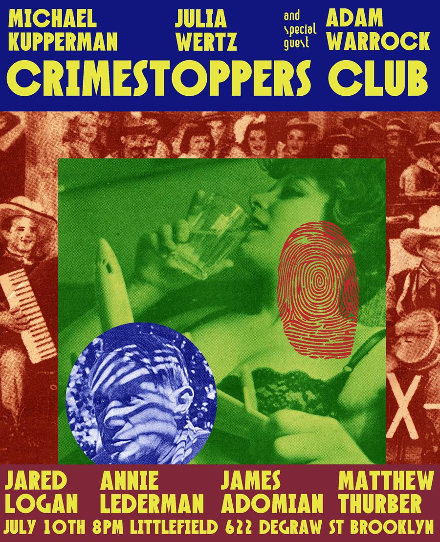 The last Crimestoppers Club.