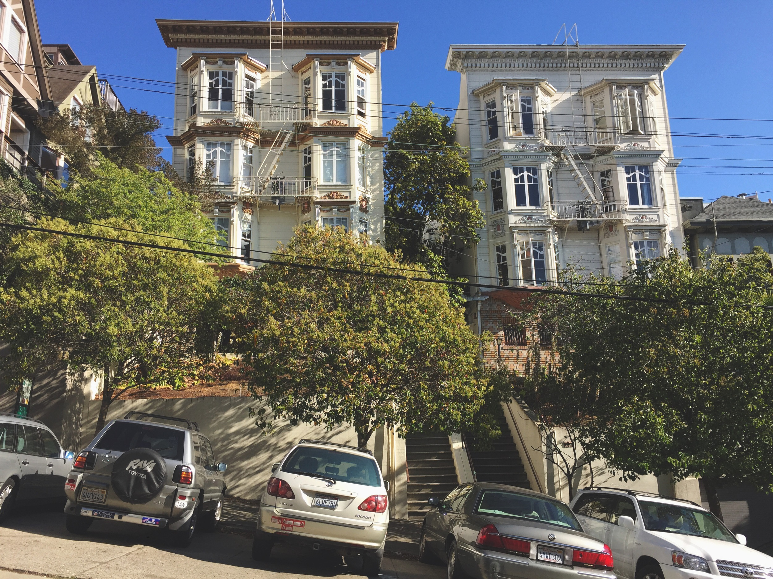 the houses of russian hill