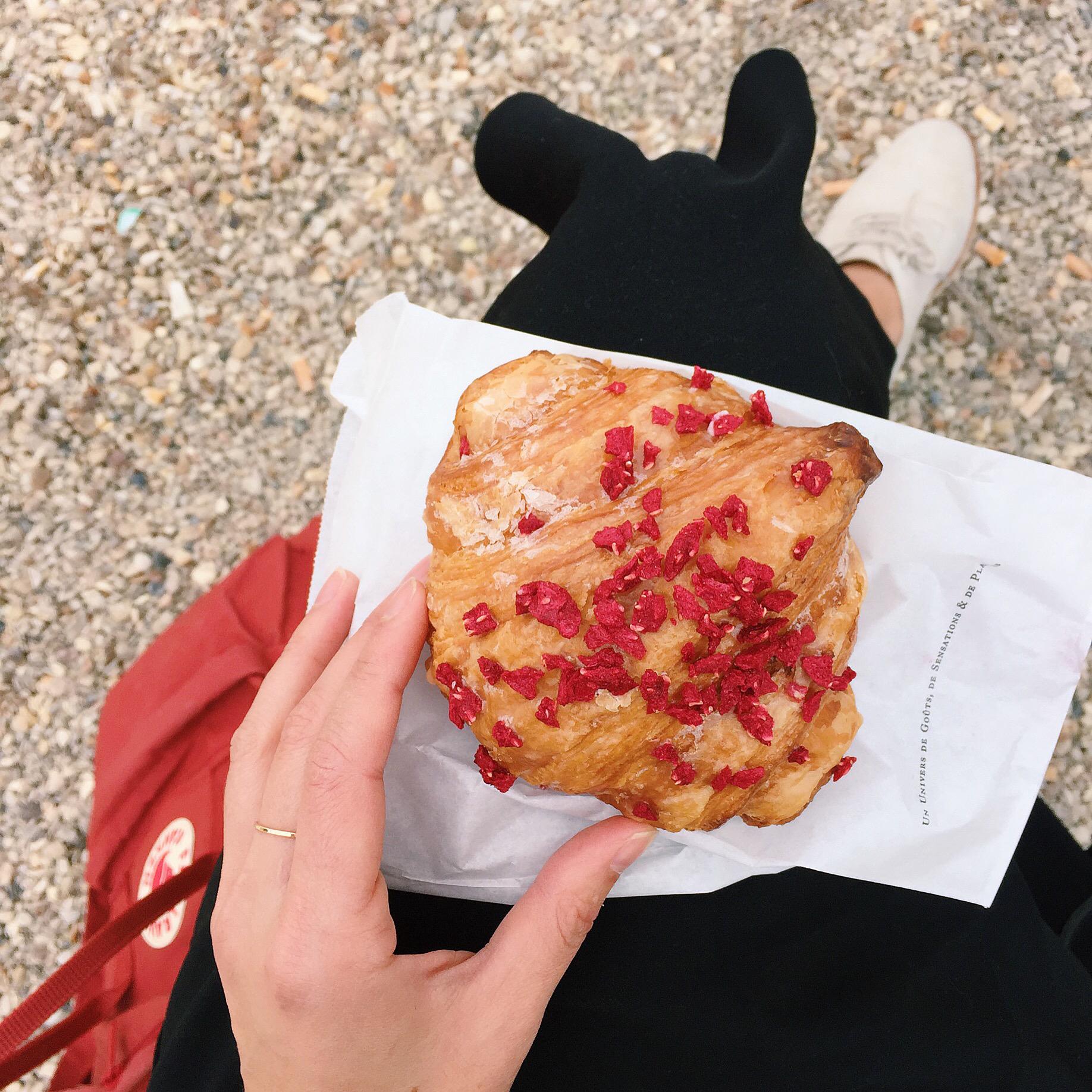 Pierre Herme's fancy croissant