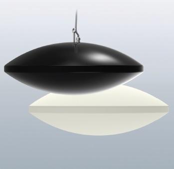 Pulsar designer space heaters in black orwhite