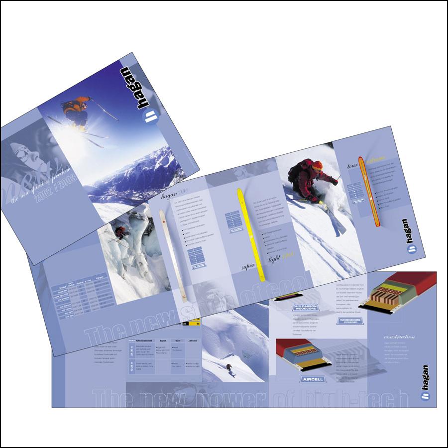 Produktkatalog Hagan-Ski(für Grill & Thompson)- designed by harald