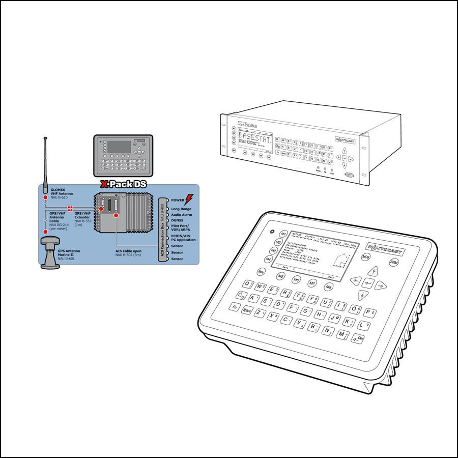 Technische Illustrationen Nautische Navigationssysteme- designed by harald