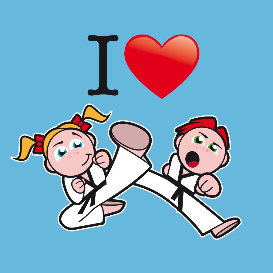 Karate-T-Shirt für Kinder - designed by harald