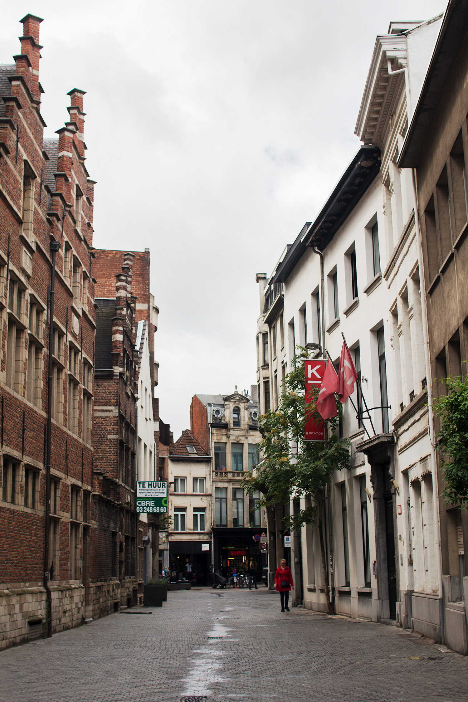 Alleyway in Antwerp