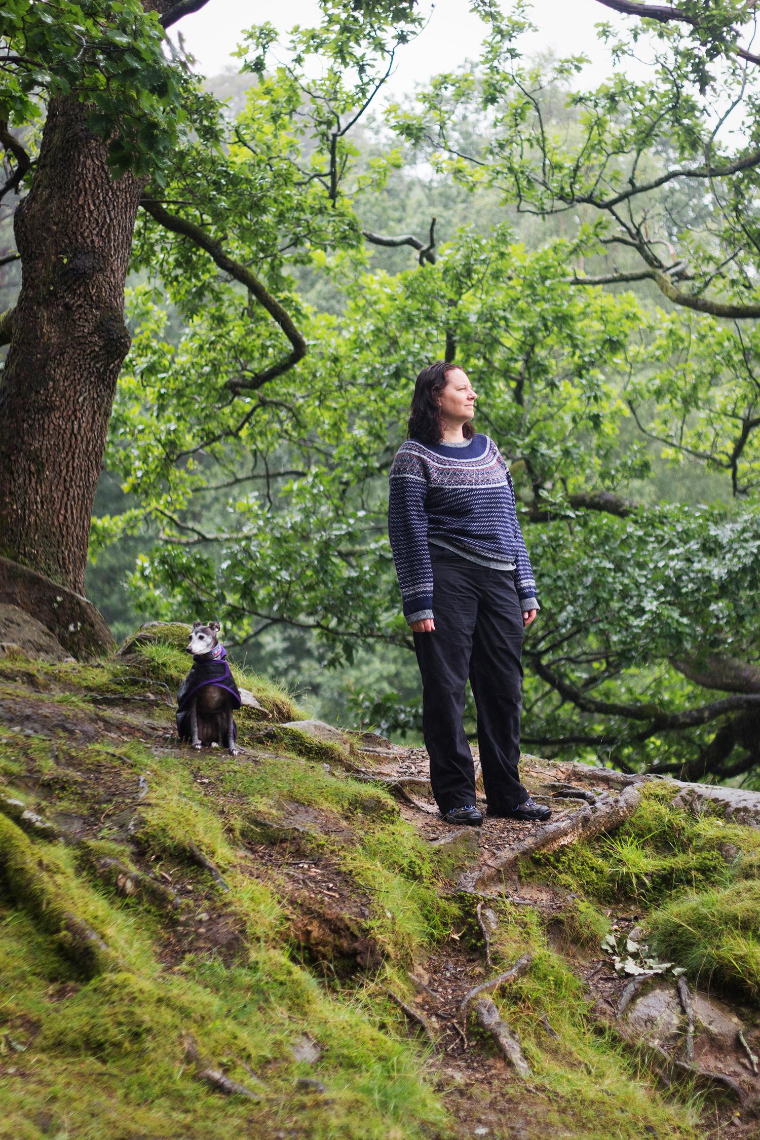 Sarah Weldon in the Lake District