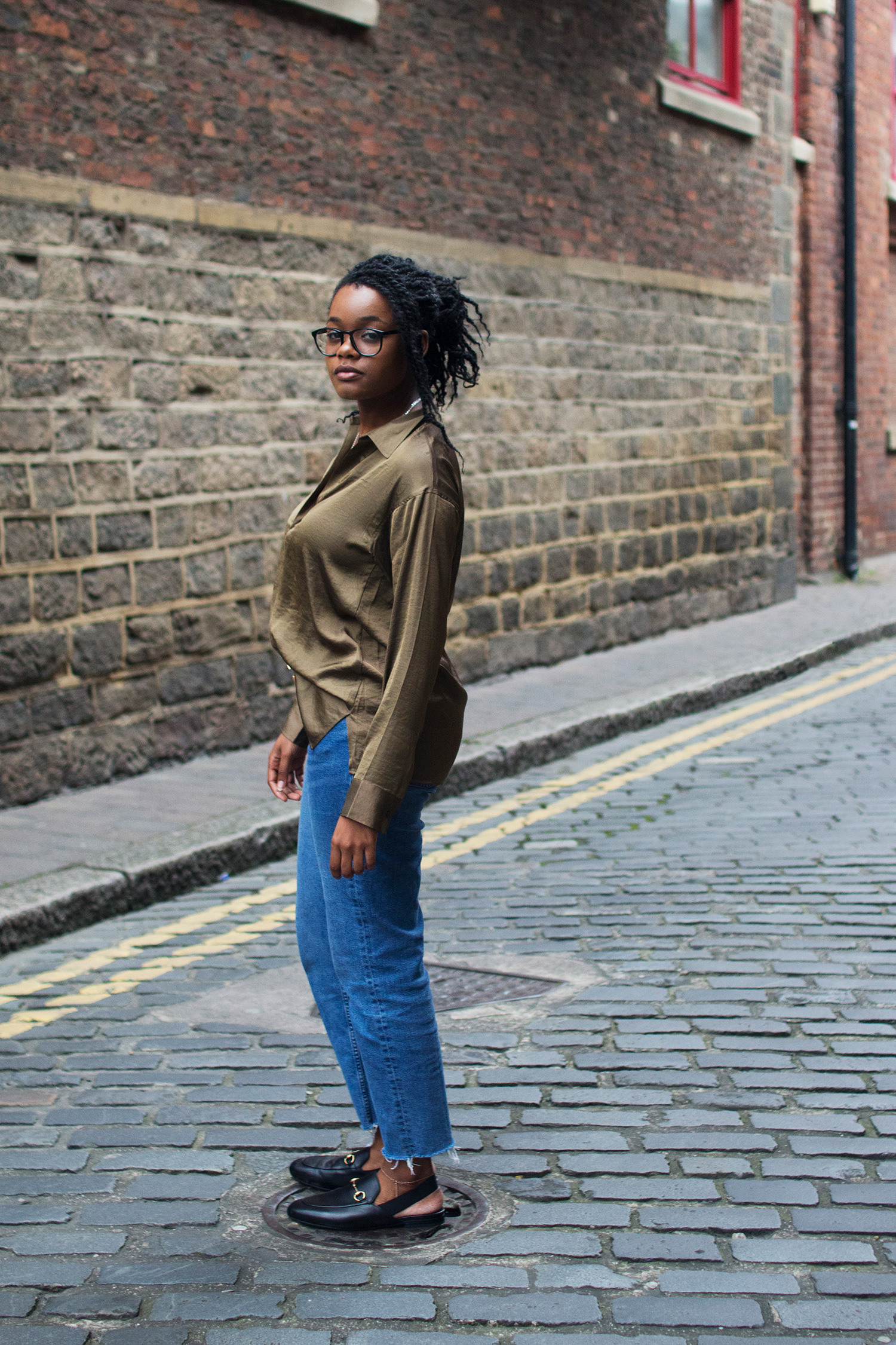 YouTuber and blogger DeeDee Louise AKA Dionne Thompson. Photography by Alice Red.