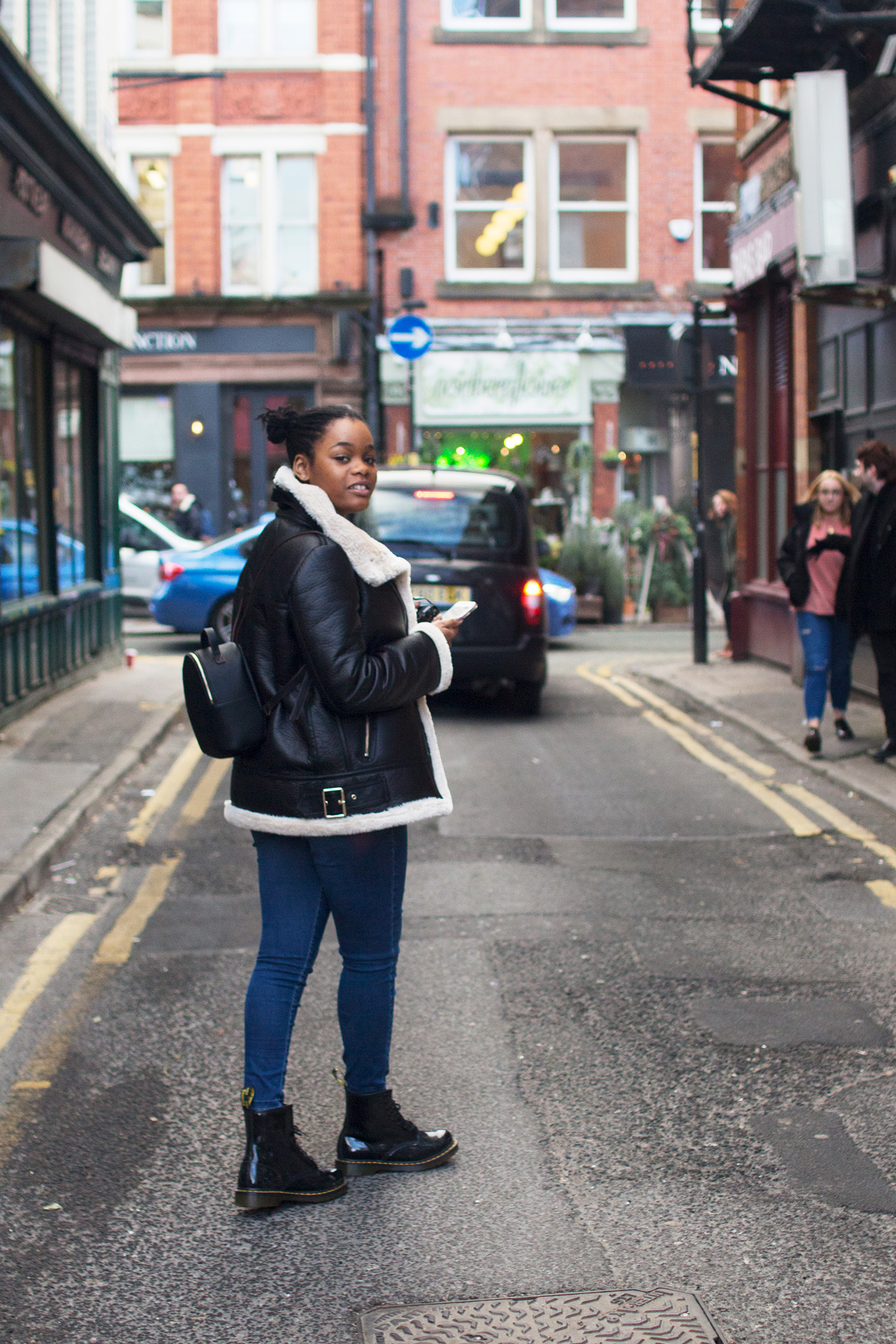Blogger and YouTuber DeeDee Louise. Photography by Alice Red.