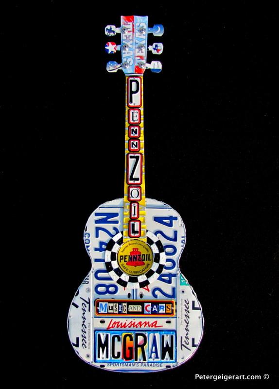 License Plate Art #Pennzoil#Tim Mcgraw.JPG