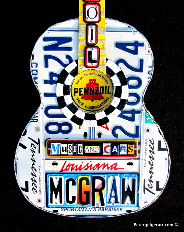 License Plate Art #Pennzoil#Tim Mcgraw-010.JPG