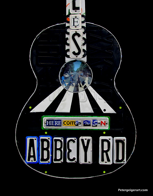 This was a special piece for a client who is givin it to her loved one, an avid Beatles fan.