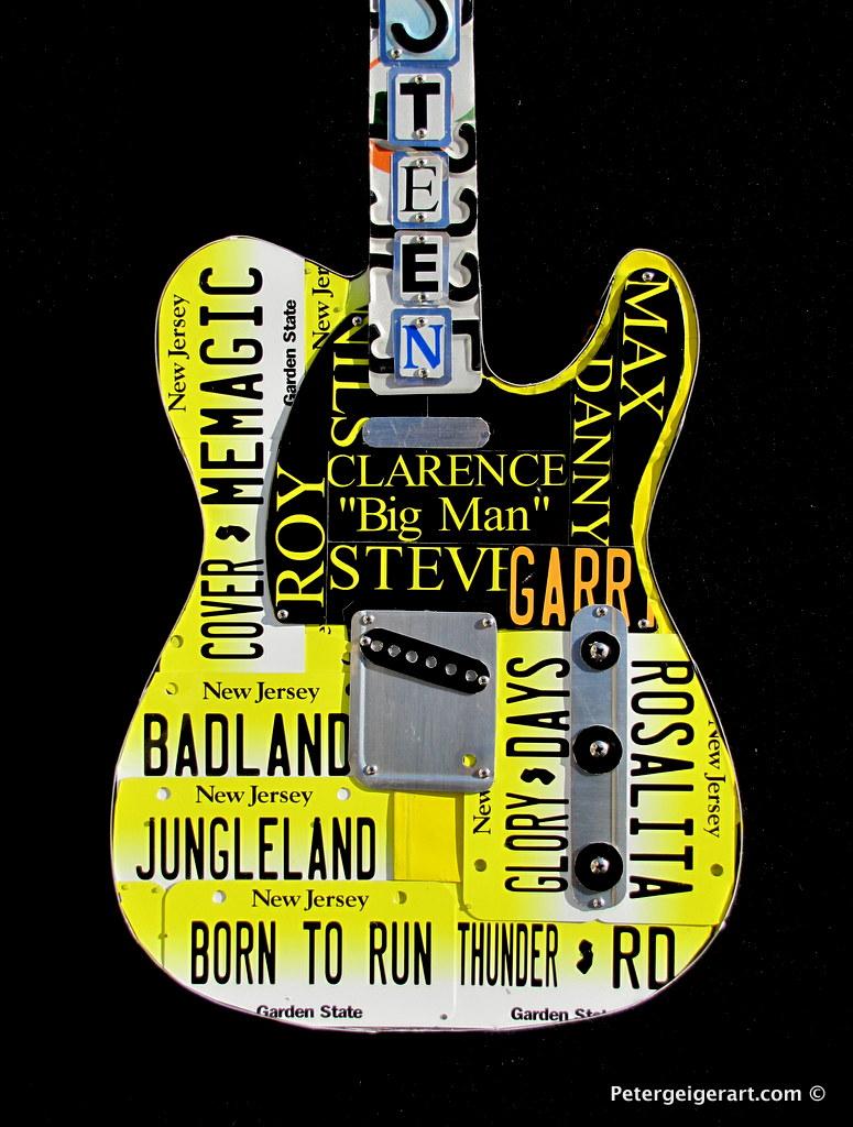 License-plate-art- Bruce Springsteen-001.JPG