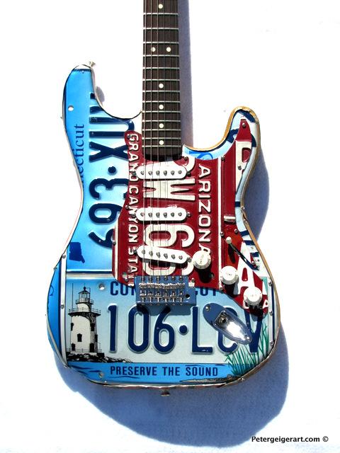 License plate art National Guitar Museum-001.JPG