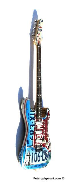 License plate art National Guitar Museum-003.JPG