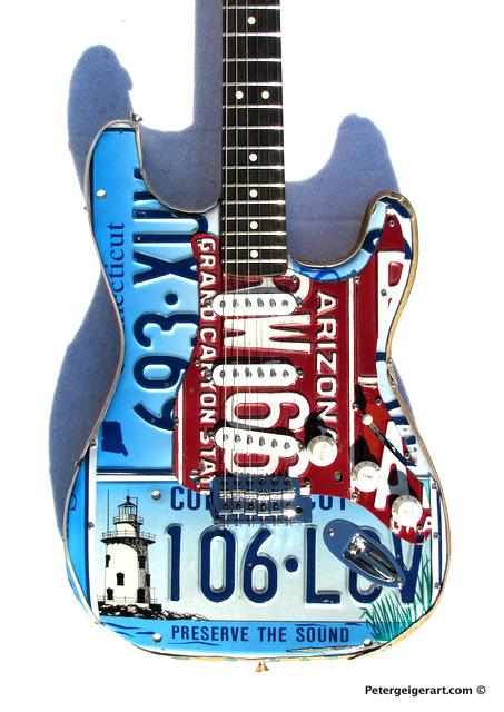 License plate art National Guitar Museum-006.JPG
