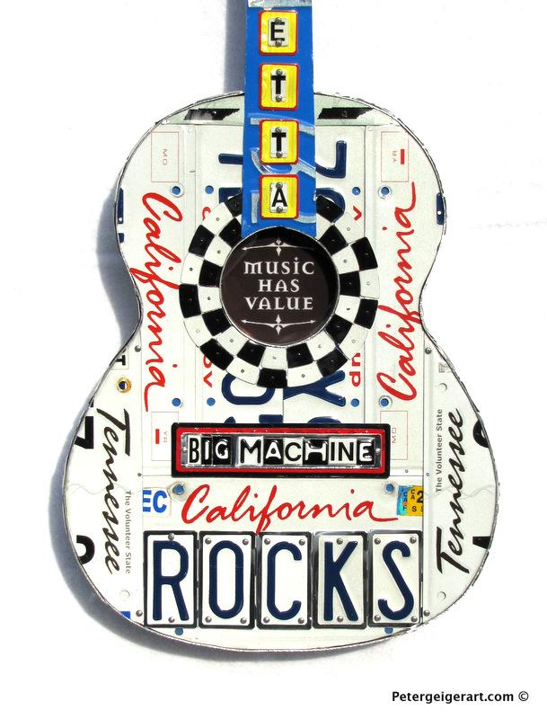 Custom License Plate Art — Peter Geiger