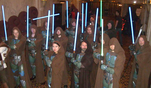 Star Wars cosplay (costume-play) fan group.
