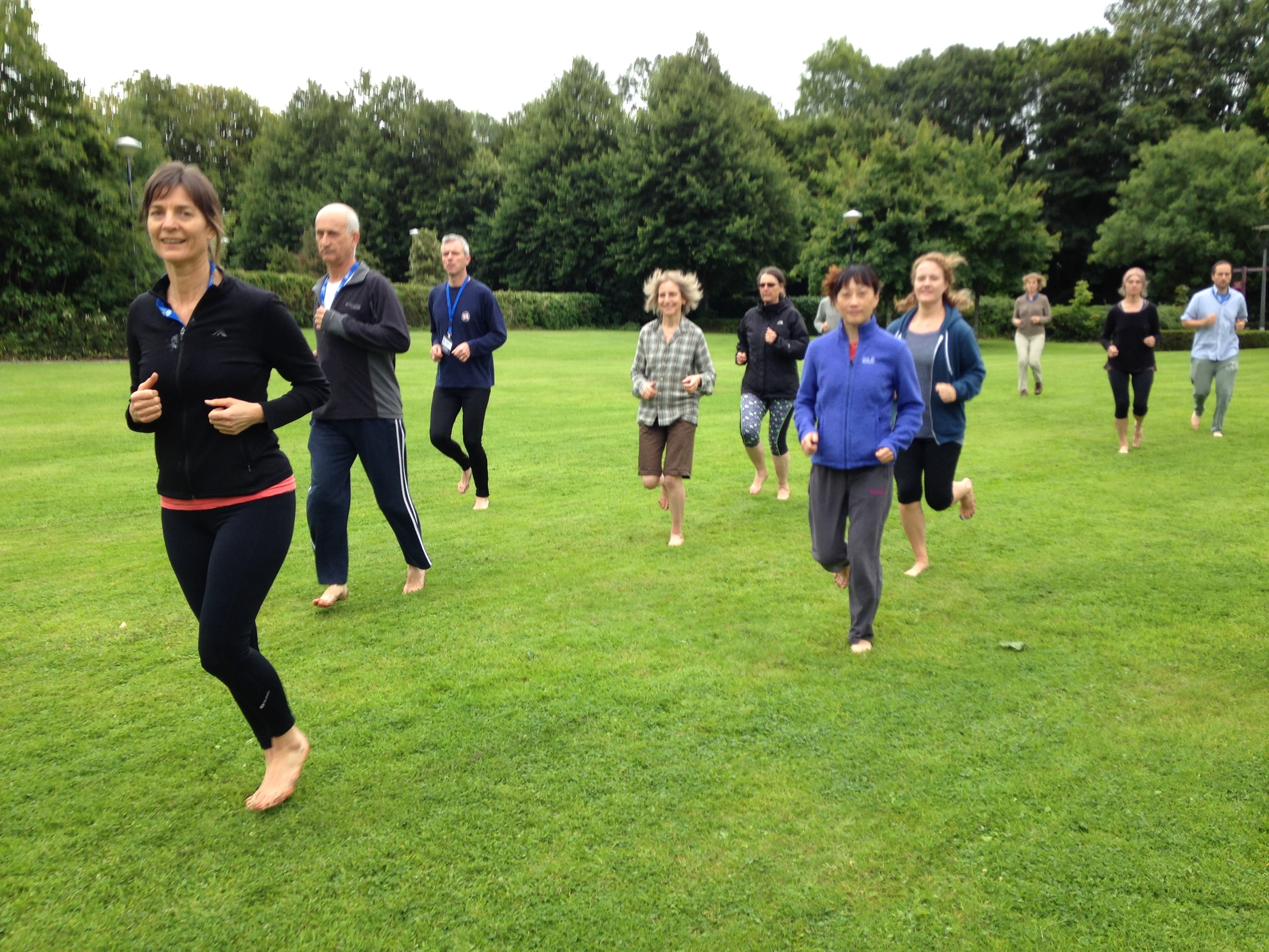 Master the Art of Running workshop in Limerick, Ireland. August '15