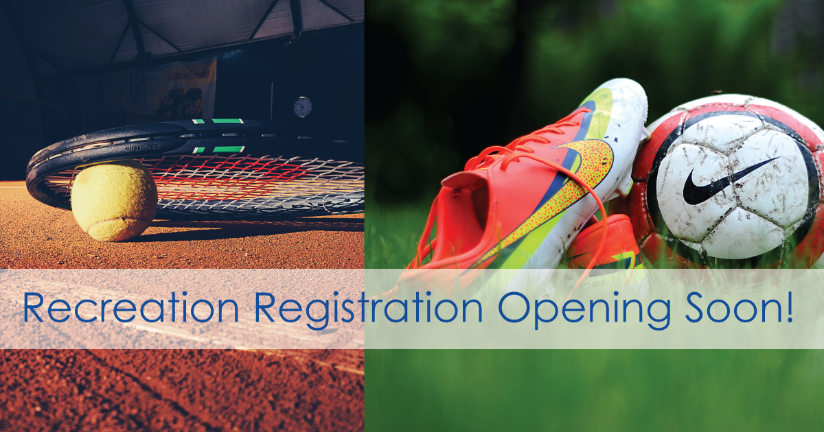City of Ottawa recreation registration opening soon!