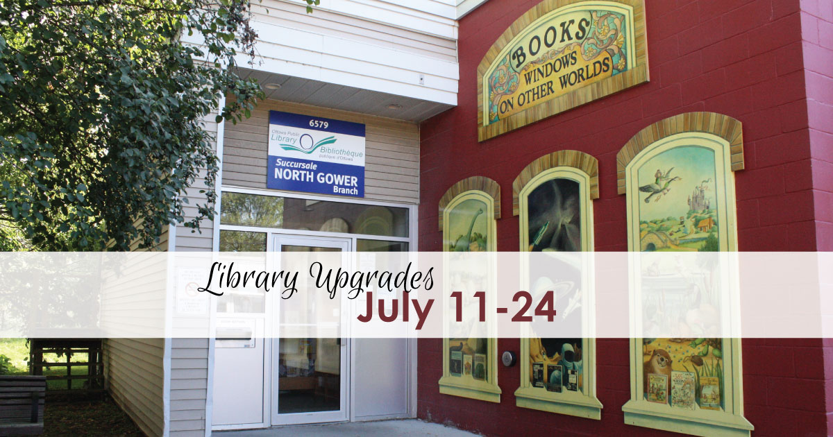 North Gower Library Upgrades - July 11-24