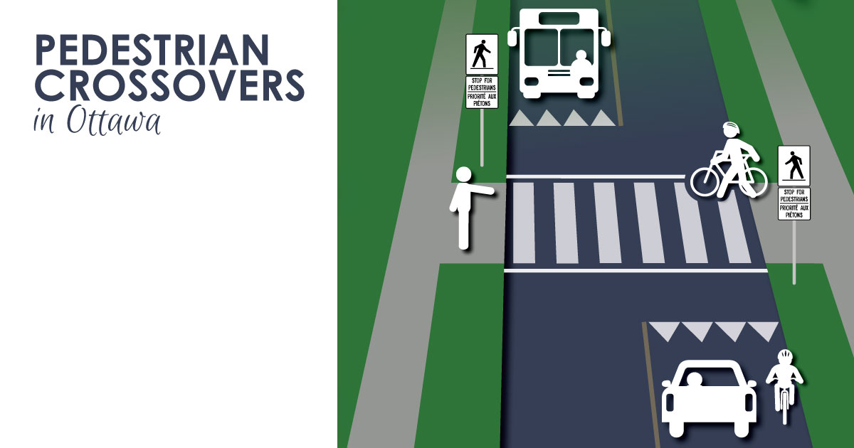 Pedestrian Crossovers in Ottawa