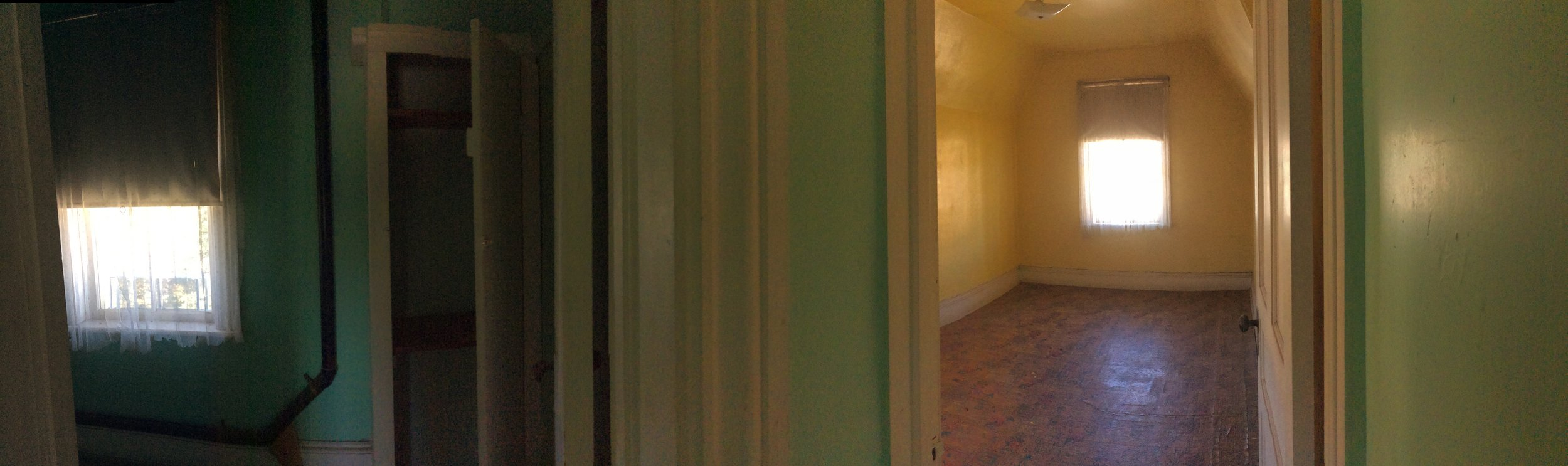 Hallway and Bedroom 3