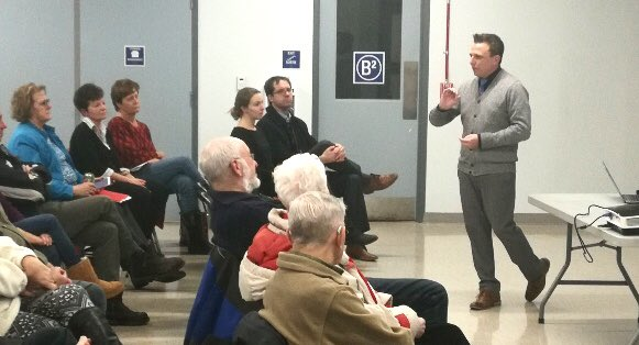 Thank you to all residents who have come out to our Town Halls thus far!  We've had great discussions and are excited about the work we have to do.   Photo credit:   Jeff Morris from the Manotick Messenger