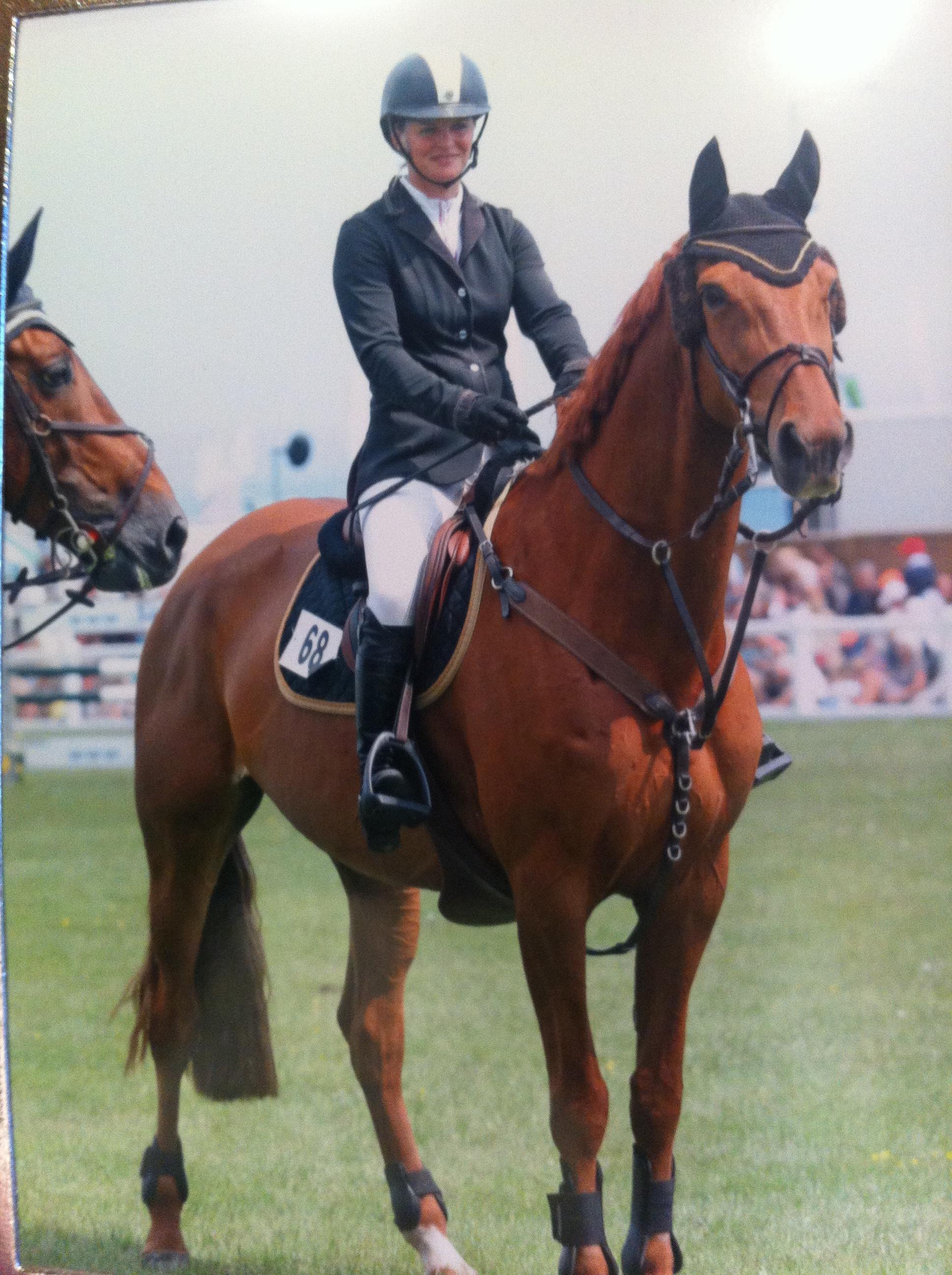 Calrina winning at Royal Cornwall