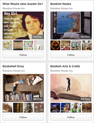 Image of Random House Book Publisher Pinterest Boards