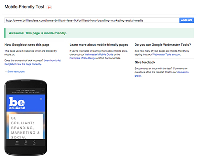 mobile-friendly-test-mobile-geddon-brilliant-lens-swfl