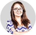 Image of Crystal Wimperis, Marketing and Design Specialist at Be Brilliant Marketing