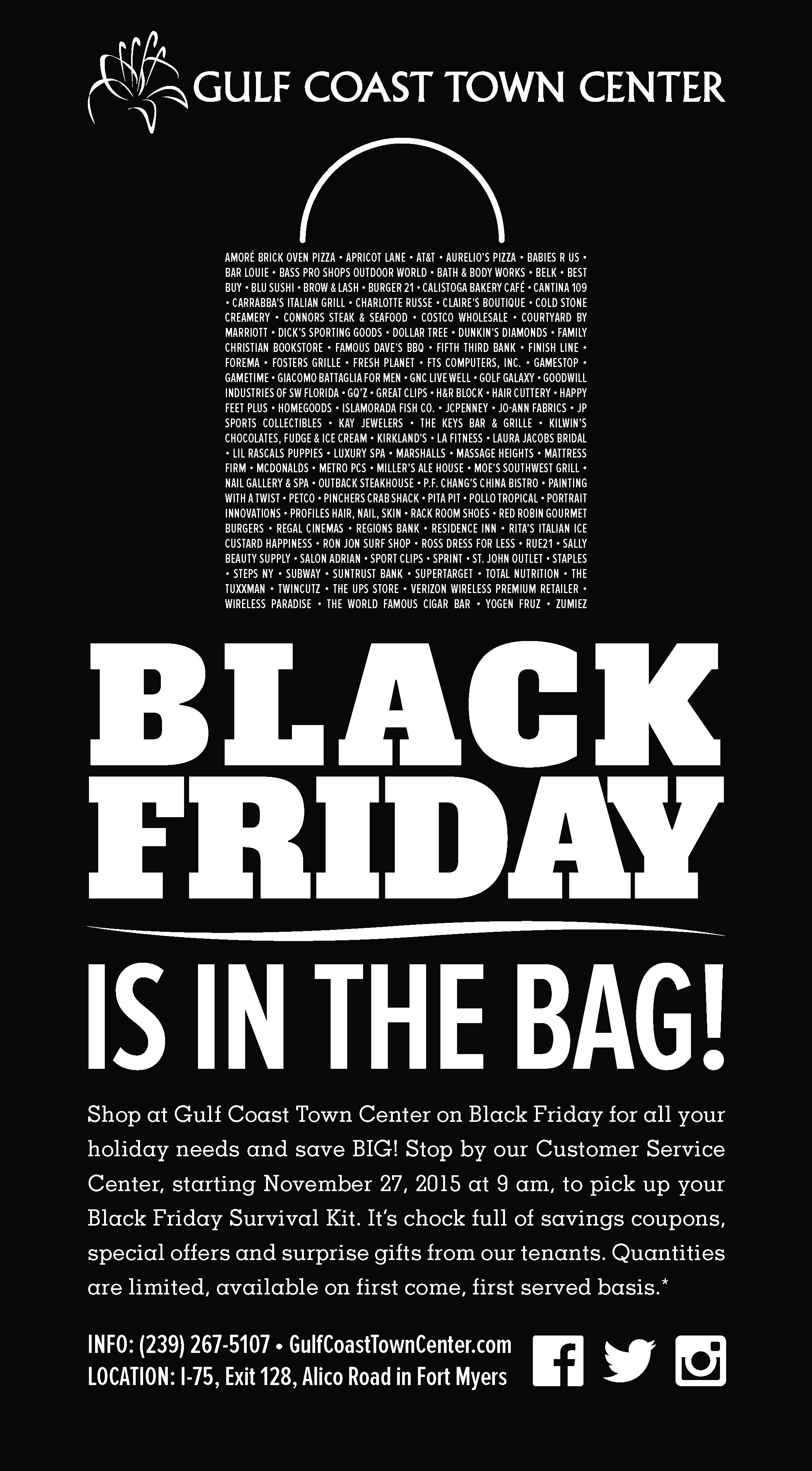 Black Friday Promotion Advertising