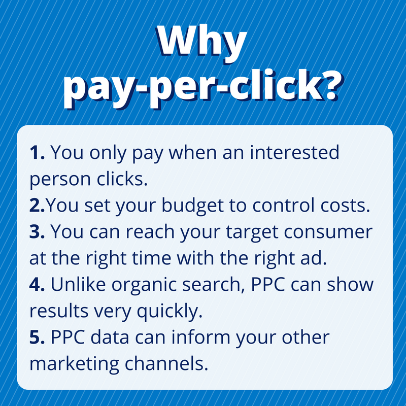 Graphic of why PPC