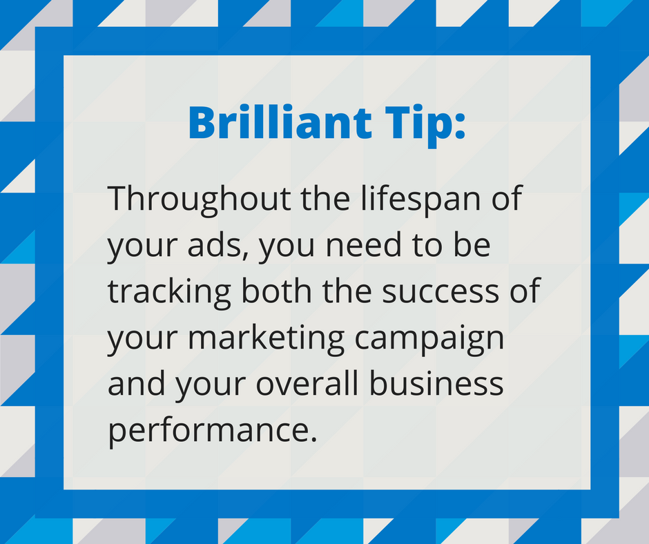 Graphic of an advertising tip.