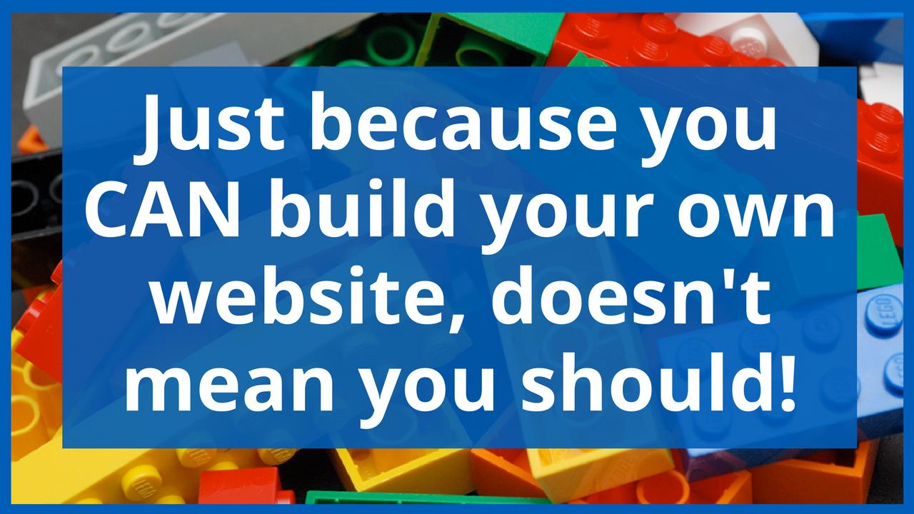 Graphic of Website Build