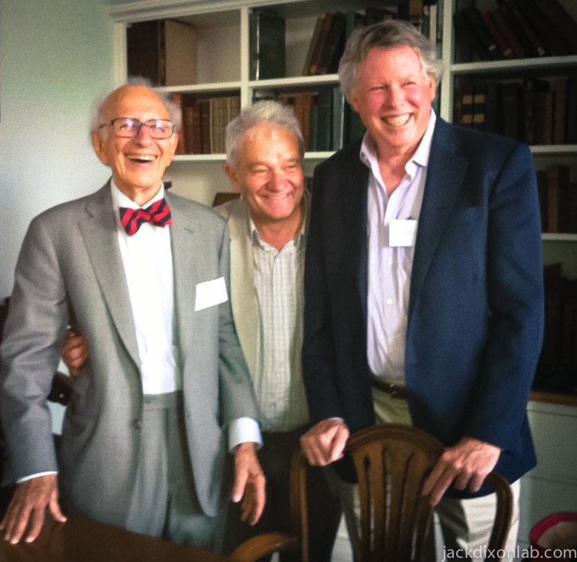 Eric R. Kandel ,  Sir Paul Nurse  and  Jack E. Dixon  at the Royal Society Induction.