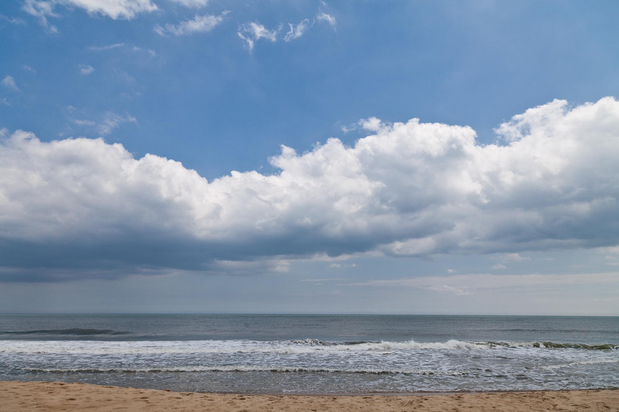 beautiful day on the beach || ocean city, maryland