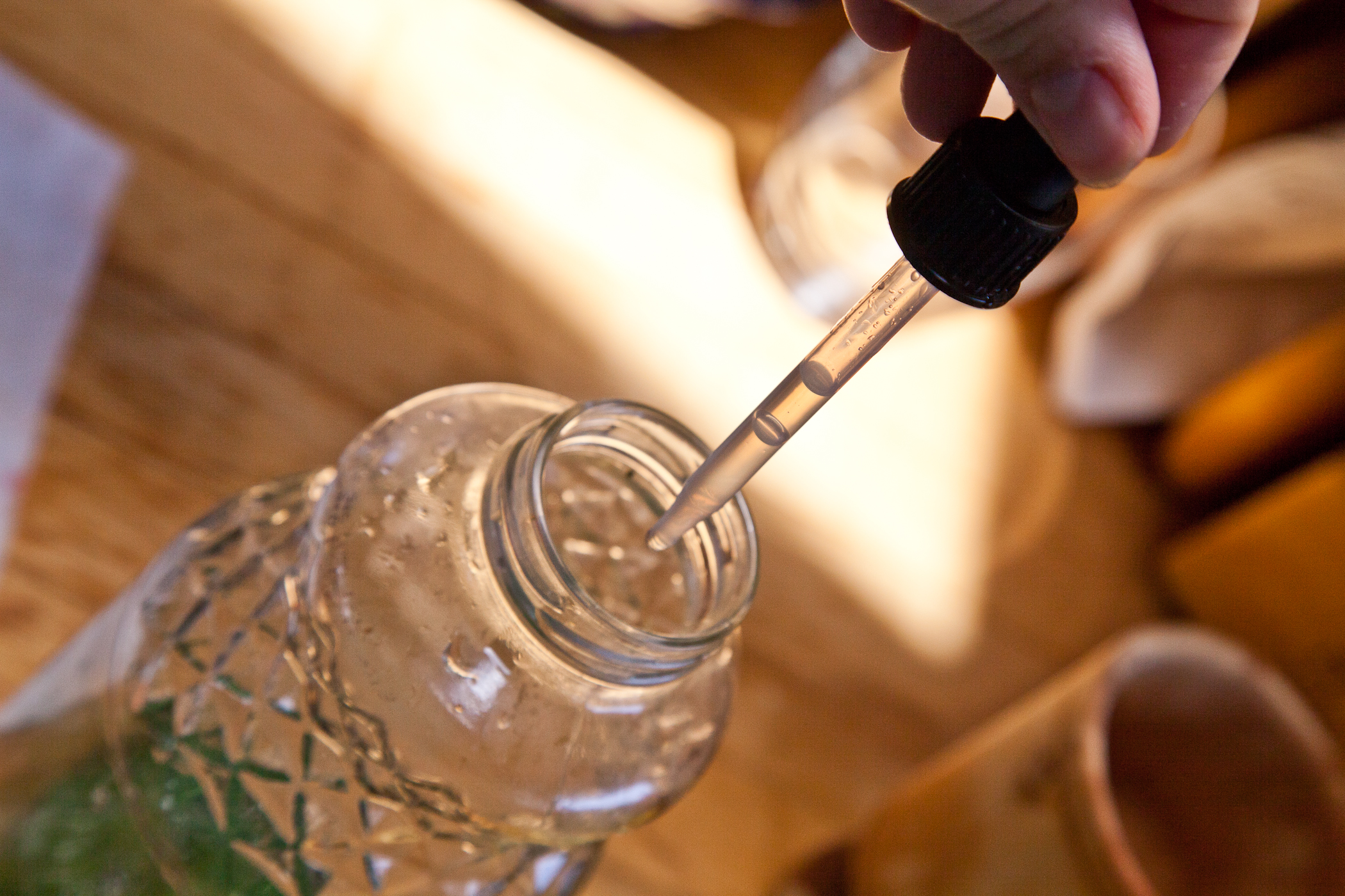 this is liquid stevia, but you can also get it in a powdered form!